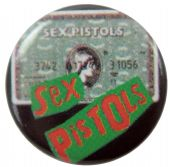 Sex Pistols - 'American Express' Button Badge